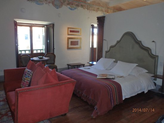 Inkaterra La Casona Relais & Chateaux : The Balcon Suite 2 Intimate Balcony