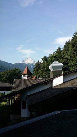 H+ Hotel Alpina Garmisch-Partenkirchen: View from our room