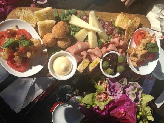 mix platters - Picture of Cinque Cucina e Caffe, Mona Vale - TripAdvisor