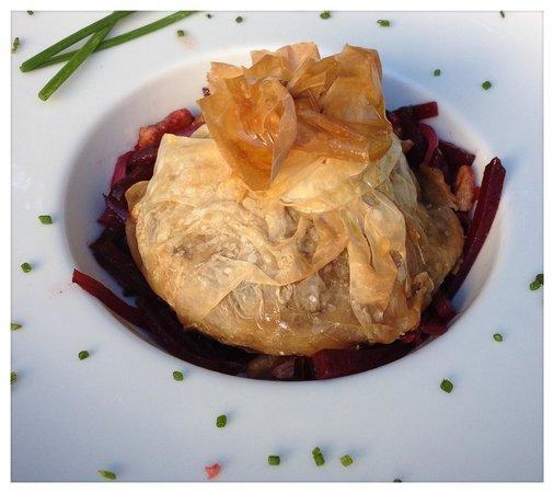 Restaurante Bellaverde: Paket von der geräucherten Kartoffel  ( vegan )