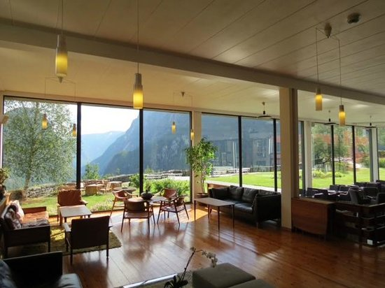 Stalheim Hotel: Lounge area