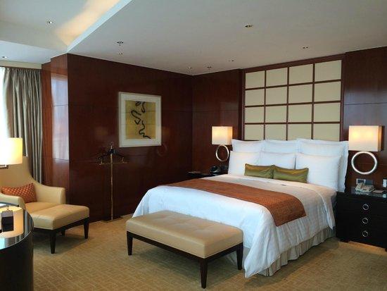 Shanghai Marriott Hotel City Centre: Bedroom