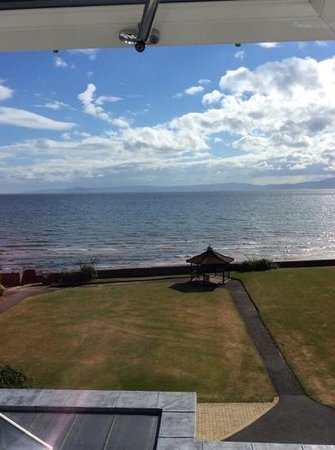 Seamill Hydro: the view from room 48