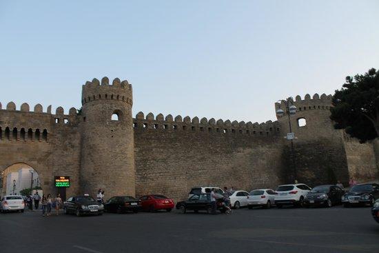Baku, Azerbaijan: крепость