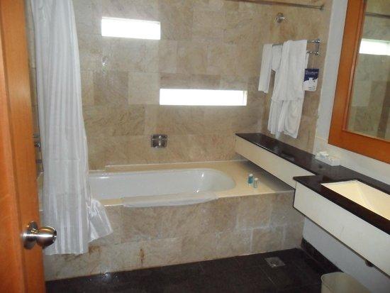 Novotel Palembang Hotel & Residence: Bath Tube