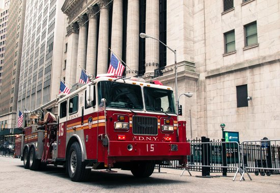 Wall Street : FDNY and NYSE