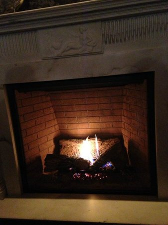 Plume at the Jefferson Hotel : Plume - fireplace