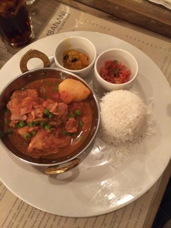 Bambanani: chicken curry