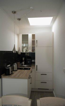 Hotel Stadt Cuxhaven: Appartement Küche