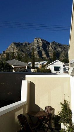 3 On Camps Bay Boutique Hotel: The view from our little patio