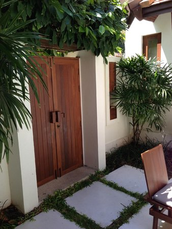 SALA Samui Resort And Spa: Our 'front door'