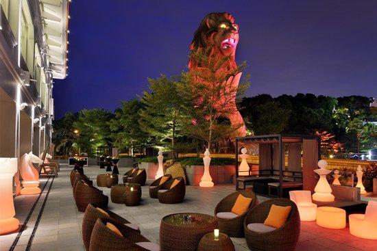 Le Meridien Singapore, Sentosa: The WoW Alfresco