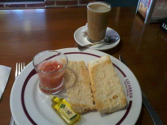 Lizarran: Micro desayuno