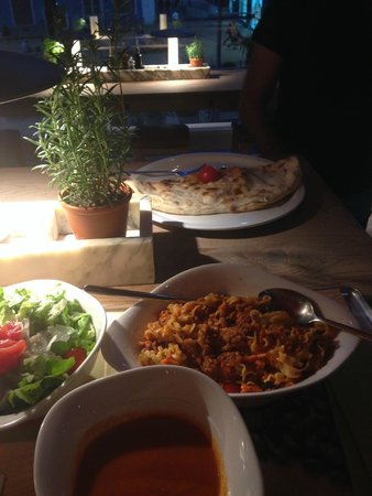 Vapiano: Our dinner