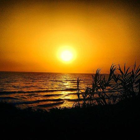 Club Med Kamarina : coucher de soleil
