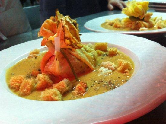 Panorama Restaurant: Gaspacho