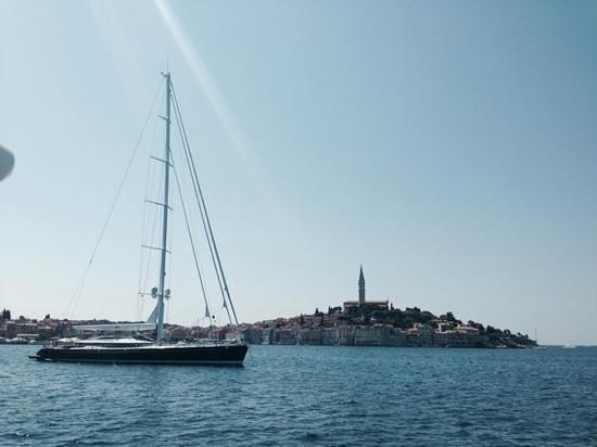 Porec Old Town: giro in barca a Rovigno