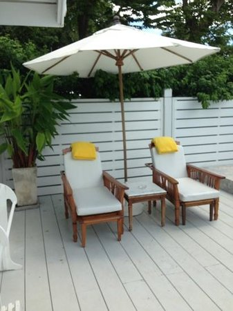 Centara Grand Beach Resort & Villas Hua Hin: Terras