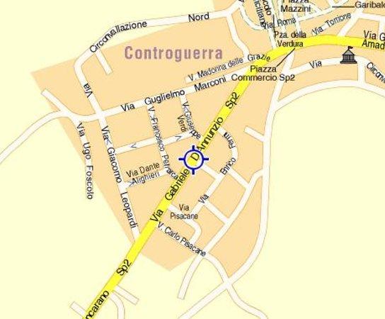 Bed & Breakfast Giardino Agritourist : mappa 2