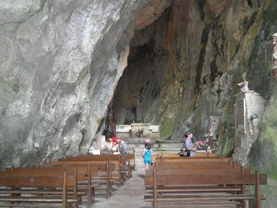 Gorges de Galamus : L'ermitage Saint-Antoine de Galamus