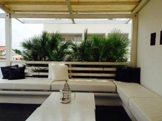 Hotel Dory : terrazzo