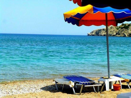 Eden Village Myrina Beach: momento di relax