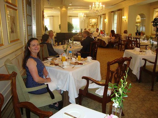 The Hay-Adams: Breakfast/Dining room