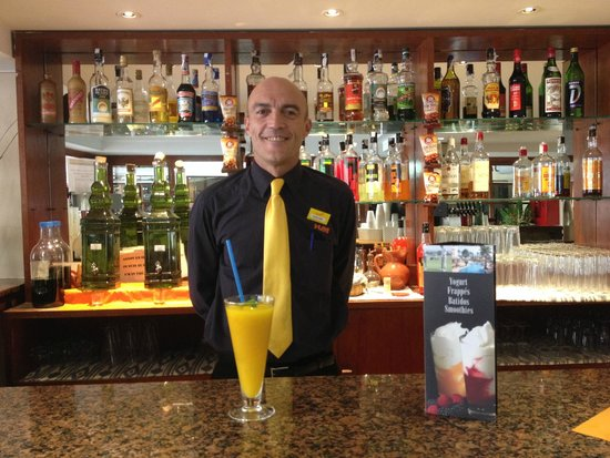 Hotel HSM Maria Luisa : New smoothies at the HSM Maria Luisa