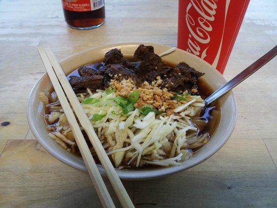 Noodle Station : Beef noodles