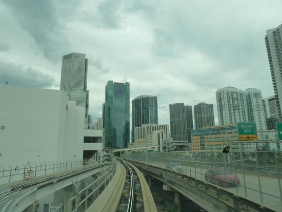 Downtown Miami dal Metromover