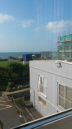 Hythe Imperial: view from our room