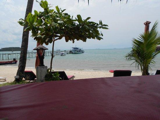 Samui Pier Resort: arrivée directe de bateaux des iles voisines