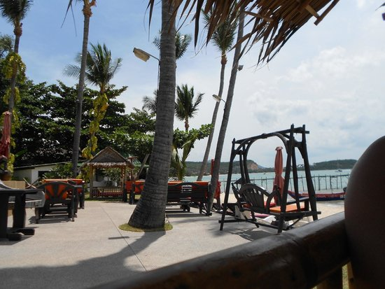 Samui Pier Resort: plage