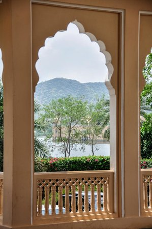 Trident,  Jaipur : View from the hotel entrance
