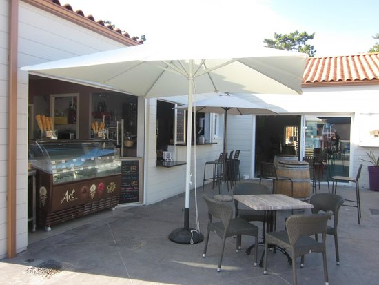 Camping Signol : le bar restaurant