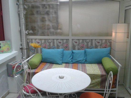 Hotel Villa Sorel: la veranda