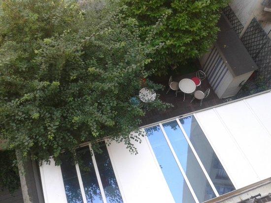 Hotel Villa Sorel: la vue de ma chambre