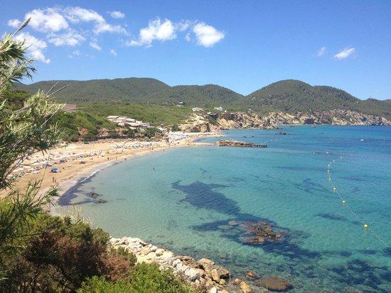 Invisa Hotel Club Cala Verde : beach view
