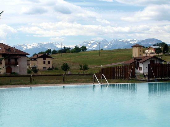 Camping Park Baita Dolomiti: Questa è la piscina