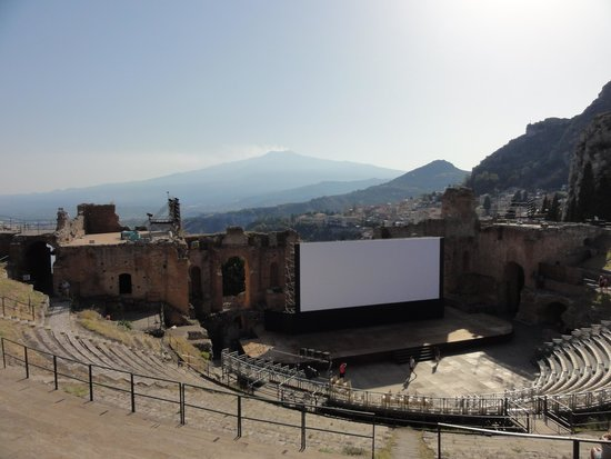 SLS Sicily Limousine Service : Greek Theatre Taormina