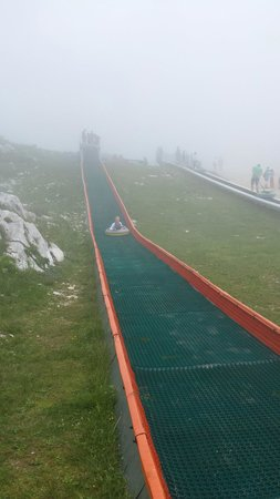 Monte Baldo: Slide for kids on top of the mountain