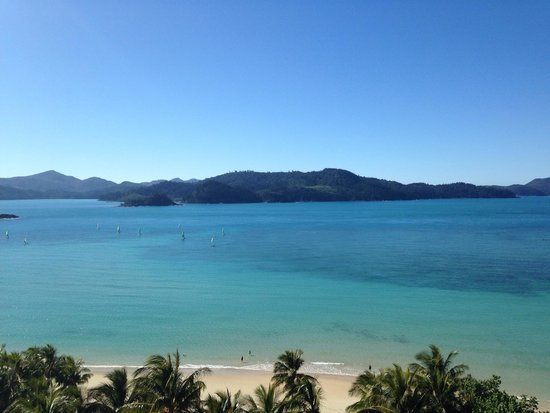 Whitsunday Apartments Hamilton Island: View from the room