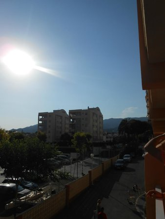 Hotel Tramontana: View from our balcony