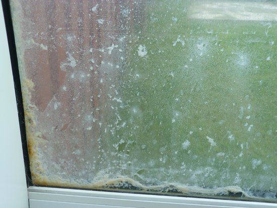 Saxa Vord Resort: Condensation and mould in the double glazed windows