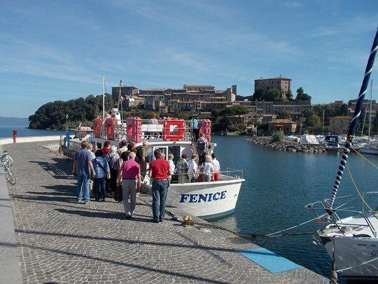 Servizio Pubblico di  Navigazione Lago di Bolsena