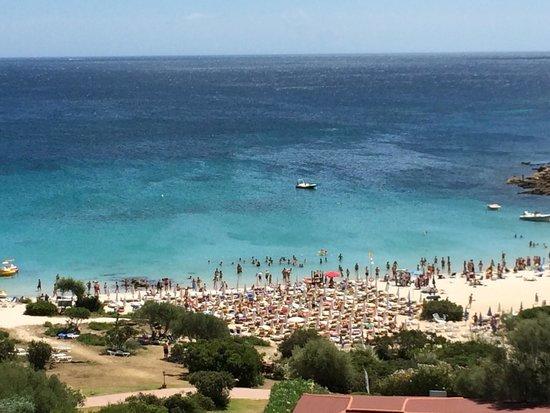 Club Valtur Colonna Beach: Vista dalla camera