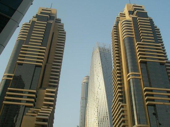 Grosvenor House Dubai : hotel - le due torri