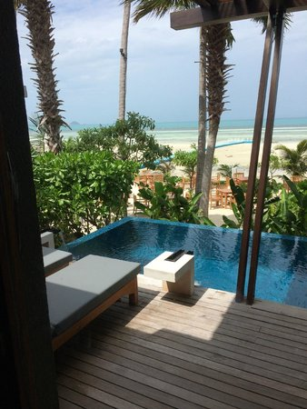 Mai Samui Resort & Spa: beach view P103
