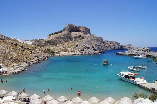 Agios Pavlos Beach (Saint Paul): St Paul Bay