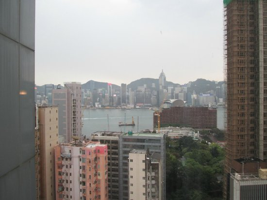 Hotel Panorama by Rhombus : View from our room on 21st floor